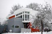Фото 6 Фасадные панели для наружной отделки дома: разновидности и 80 практичных решений для стильного экстерьера