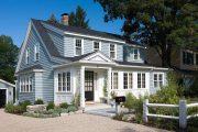 Фото 7 Фасадные панели для наружной отделки дома: разновидности и 80 практичных решений для стильного экстерьера