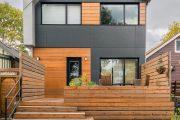 Фото 19 Фасадные панели для наружной отделки дома: разновидности и 80 практичных решений для стильного экстерьера