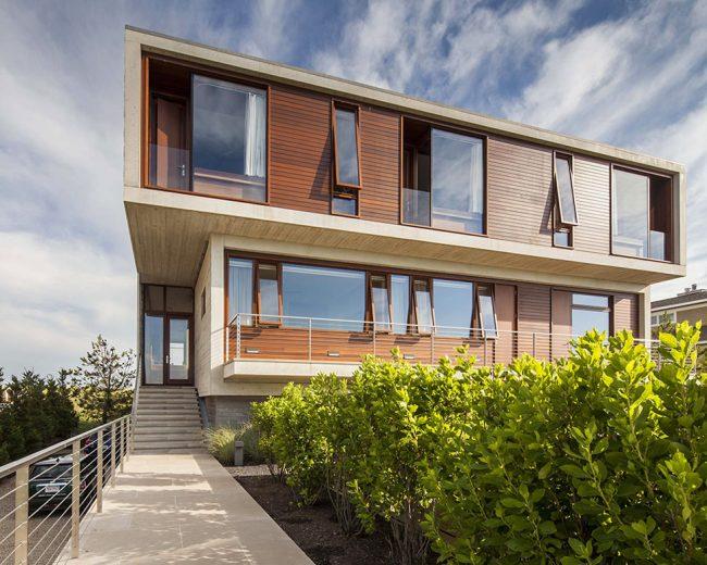 Красивый модульный дом в современном стиле