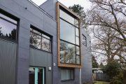 Фото 31 Фасадные панели для наружной отделки дома: разновидности и 80 практичных решений для стильного экстерьера