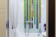 Фото 19 Угловой карниз для ванны: особенности выбора и 75+ функциональных и стильных воплощений