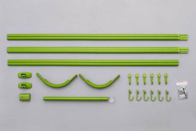 Карнизы из пластика легки в сборке и монтаже