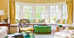 Выбираем карнизы для штор: 80+ эффектных и элегантных воплощений в интерьере фото