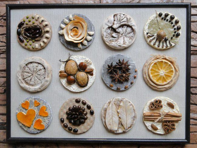 Картина для кухни своими руками из различных пряностей