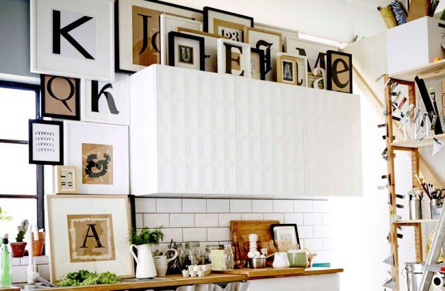 Стильный дизайн кухни IKEA
