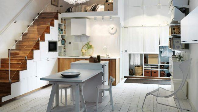 Кухня IKEA серии Вединге