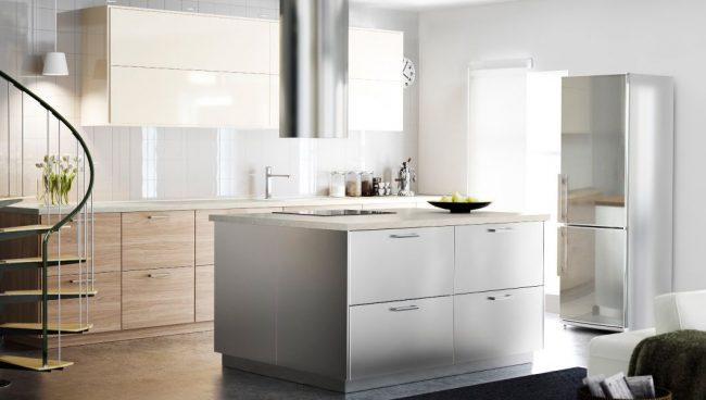 Просторная кухня Брокхульт от IKEA