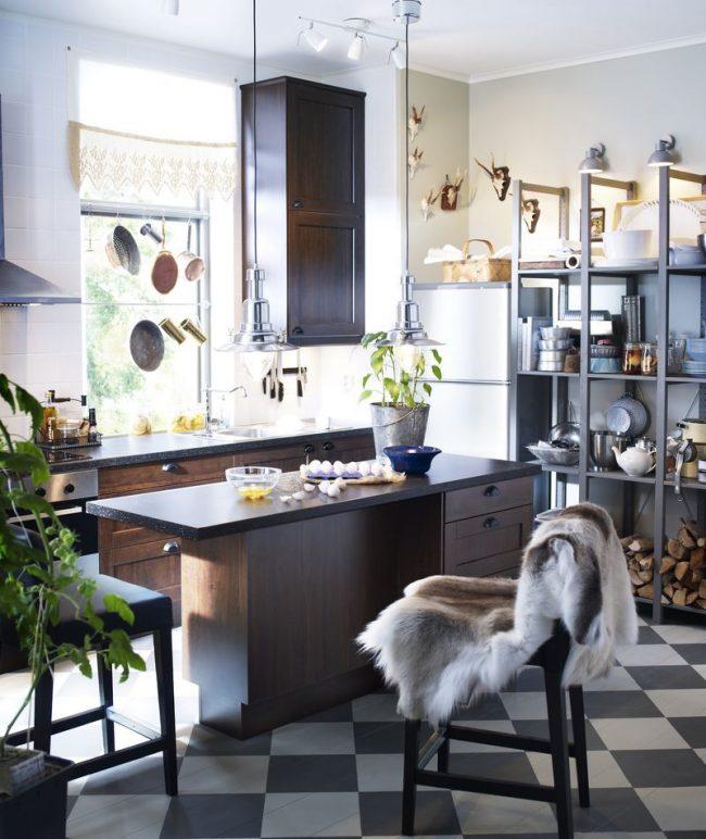 Скандинавский стиль серии Роккхаммар от IKEA