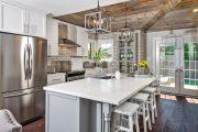 Фото 7 Кухни в стиле кантри и прованс: 85 элегантных и теплых решений для ценителей уюта