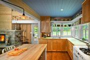 Фото 2 Кухни в стиле кантри и прованс: 85 элегантных и теплых решений для ценителей уюта