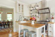 Фото 24 Кухни в стиле кантри и прованс: 85 элегантных и теплых решений для ценителей уюта