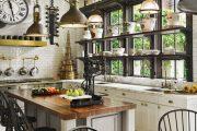Фото 32 Кухни в стиле кантри и прованс: 85 элегантных и теплых решений для ценителей уюта