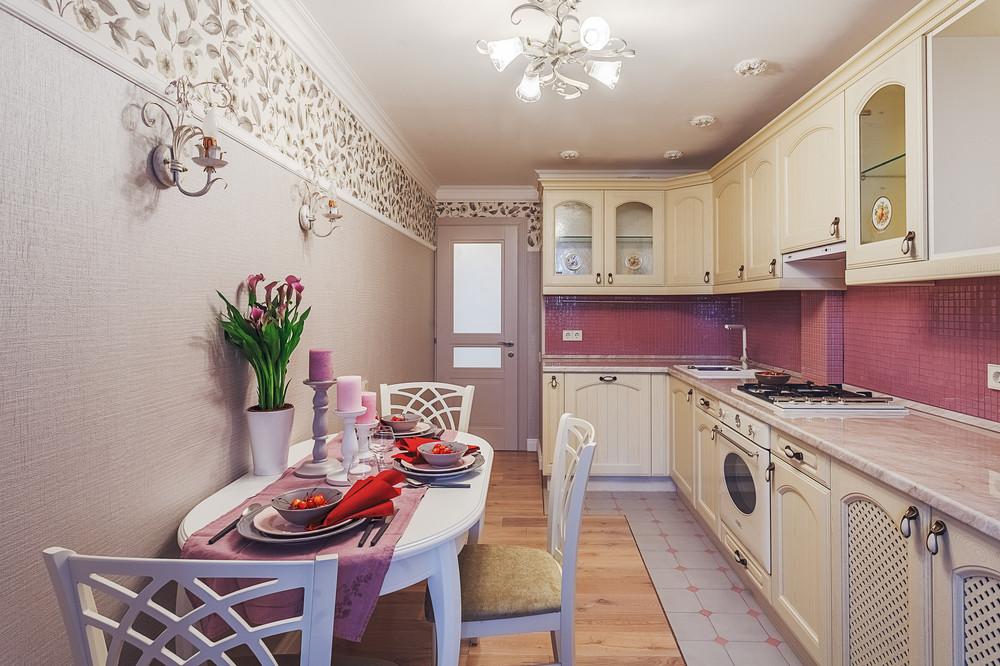 Светлые кухни в интерьере реальные фото