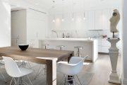 Фото 3 Кухня в скандинавском стиле: 80 интерьеров для тех, кто предпочитает минимализм и бескомпромиссный комфорт