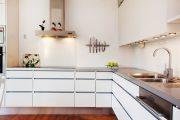 Фото 21 Кухня в скандинавском стиле: 80 интерьеров для тех, кто предпочитает минимализм и бескомпромиссный комфорт