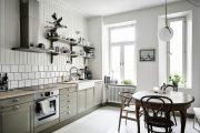 Фото 29 Кухня в скандинавском стиле: 80 интерьеров для тех, кто предпочитает минимализм и бескомпромиссный комфорт