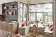 Фото 33 Объединение балкона с кухней: этапы перепланировки и 70 наиболее комфортных реализаций
