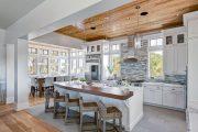 Фото 7 Объединение балкона с кухней: этапы перепланировки и 70 наиболее комфортных реализаций