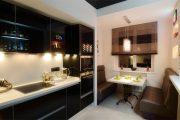 Фото 8 Объединение балкона с кухней: этапы перепланировки и 70 наиболее комфортных реализаций