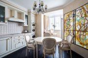 Фото 14 Объединение балкона с кухней: этапы перепланировки и 70 наиболее комфортных реализаций