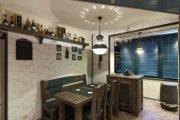 Фото 16 Объединение балкона с кухней: этапы перепланировки и 70 наиболее комфортных реализаций