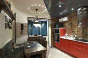 Фото 17 Объединение балкона с кухней: этапы перепланировки и 70 наиболее комфортных реализаций