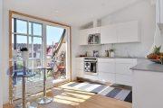 Фото 21 Объединение балкона с кухней: этапы перепланировки и 70 наиболее комфортных реализаций