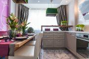 Фото 24 Объединение балкона с кухней: этапы перепланировки и 70 наиболее комфортных реализаций