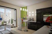 Фото 28 Объединение балкона с кухней: этапы перепланировки и 70 наиболее комфортных реализаций