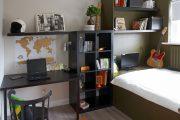 Фото 14 Мебель для школьника: рекомендации по выбору и 75+ вдохновляющих идей для обустройства детской комнаты