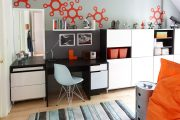 Фото 4 Мебель для школьника: 120+ фото вдохновляющих идей для идеальной детской комнаты