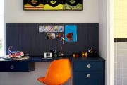 Фото 27 Мебель для школьника: рекомендации по выбору и 75+ вдохновляющих идей для обустройства детской комнаты