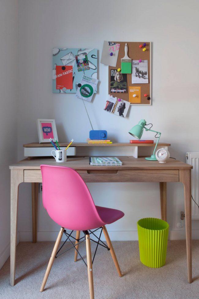 Красивая мебель школьника в стиле модерн