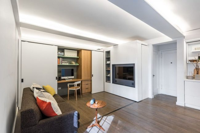 Шкаф-трансформер для малогабаритных квартир