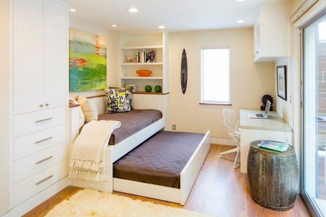 Детская комната с кроватью-трансформером