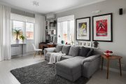 Фото 4 Дизайн однокомнатной квартиры: как оптимально использовать каждый метр и 80 лучших современных интерьеров