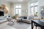 Фото 8 Дизайн однокомнатной квартиры: как оптимально использовать каждый метр и 80 лучших современных интерьеров