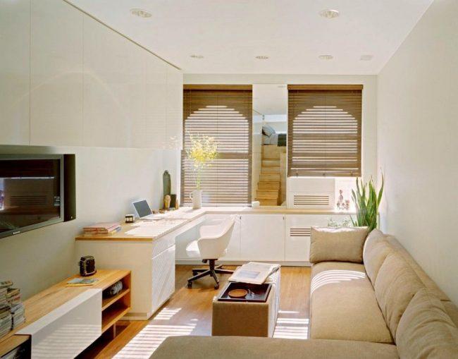 Раскладной угловой диван - это идеальной вариант для малогабаритной однокомнатной квартиры