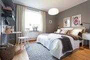 Фото 14 Дизайн однокомнатной квартиры: как оптимально использовать каждый метр и 80 лучших современных интерьеров