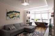 Фото 20 Дизайн однокомнатной квартиры: как оптимально использовать каждый метр и 80 лучших современных интерьеров