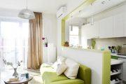 Фото 29 Дизайн однокомнатной квартиры: как оптимально использовать каждый метр и 80 лучших современных интерьеров