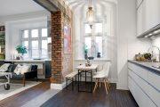 Фото 32 Дизайн однокомнатной квартиры: как оптимально использовать каждый метр и 80 лучших современных интерьеров