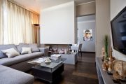 Фото 33 Дизайн однокомнатной квартиры: как оптимально использовать каждый метр и 80 лучших современных интерьеров