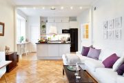 Фото 40 Дизайн однокомнатной квартиры: как оптимально использовать каждый метр и 80 лучших современных интерьеров