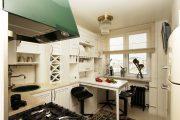Фото 1 Современный дизайн однокомнатной квартиры 40 кв. метров: идеи зонирования и 80+ фото стильных проектов
