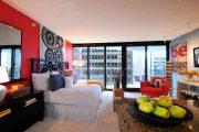 Фото 9 Современный дизайн однокомнатной квартиры 40 кв. метров: идеи зонирования и 80+ фото стильных проектов