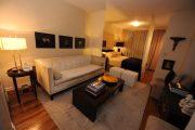 Фото 10 Современный дизайн однокомнатной квартиры 40 кв. метров: идеи зонирования и 80+ фото стильных проектов