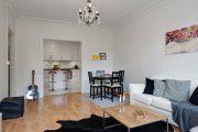Фото 12 Современный дизайн однокомнатной квартиры 40 кв. метров: идеи зонирования и 80+ фото стильных проектов