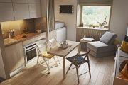 Фото 17 Интерьер однокомнатной квартиры: все тонкости современного дизайна и 80+ фото стильных реализаций